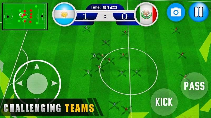 دانلود World Cup 2019 Soccer Games : Real Football Games - بازی جام جهانی فوتبال 2019 اندروید
