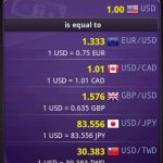 دانلود aCurrency Pro (exchange rate) برنامه تبدیل نرخ دلار و یورو !