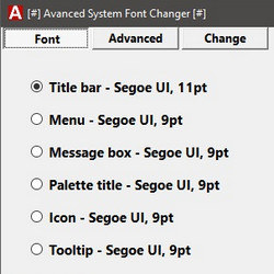 Advanced System Font Changer 1.2.0.37 - نرم افزار تغییر فونت ویندوز