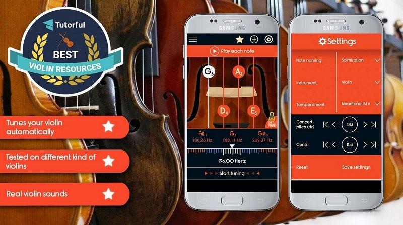 دانلود Master Violin Tuner - برنامه ویولن کاربردی برای اندروید