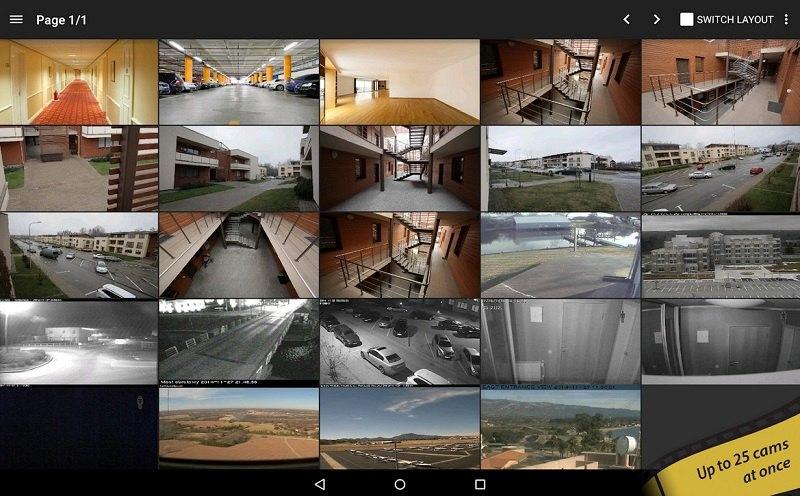 دانلود tinyCam Monitor PRO - برنامه مدیریت دوربین های مدار بسته برای اندروید