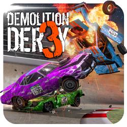 دانلود Demolition Derby 3 v1.0.035 - بازی ریسینگ تخریب دربی 3 اندروید