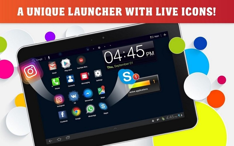 Launcher Live Icons for Android 6