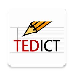 دانلود TEDICT – English Dictation / Speaking / Listening v6.3.5- برنامه یادگیری زبان انگلیسی اندروید