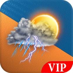 دانلود Weather Forecast 2019 – VIP v2.2 - نرم افزار پیش بینی هوا وی آی پی اندروید
