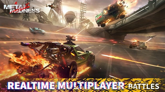 METAL MADNESS PvP-