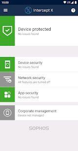 Sophos Intercept X for Mobile 1