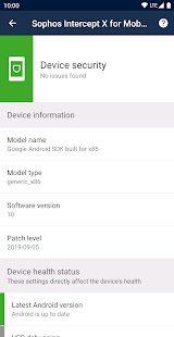 Sophos Intercept X for Mobile 2