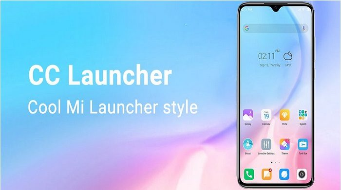 Cool Mi Launcher CC Launcher 2020 for you