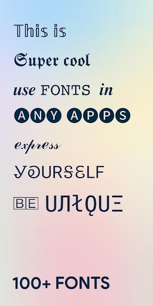 Fancy Fonts – 1