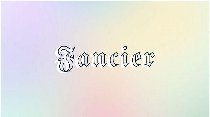 Fancy Fonts – 111