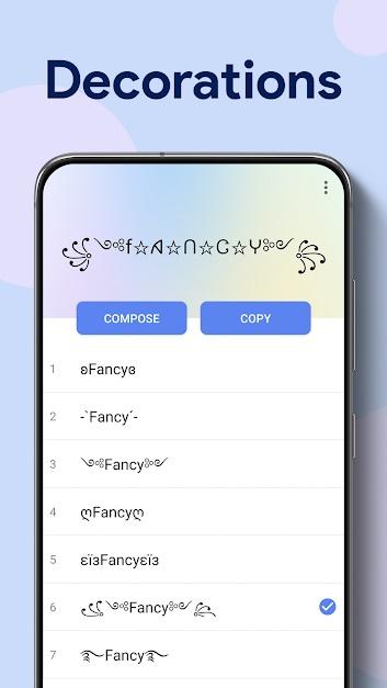Fancy Fonts –6