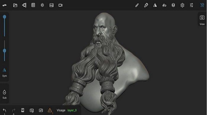 Nomad Sculpt 111