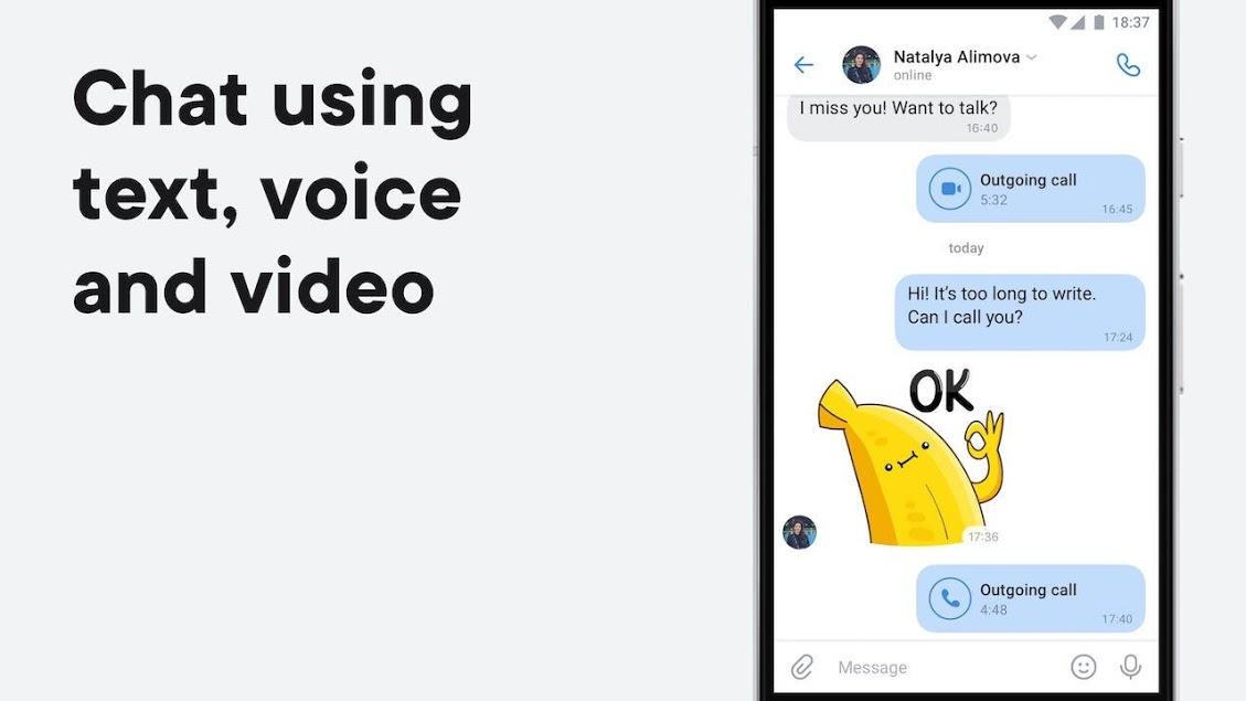 VK — live chatting free calls 2