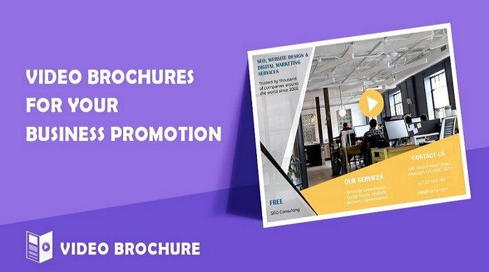 Video Brochure Maker Video Marketing Templates 111