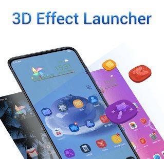 3D Effect Launcher Cool Live Effect Wallpaper 1