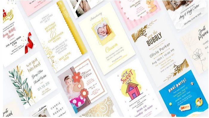 Invitation Card Maker Ecards Digital Card 111