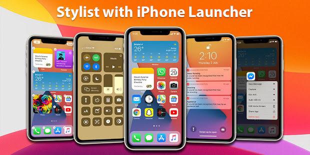 Launcher iPhone 1