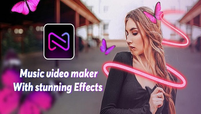Music Video Maker with neon photo Effects 1111