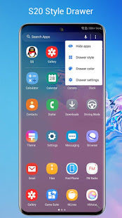 SO S20 Launcher for Galaxy 2
