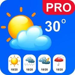 دانلود Live Weather pro- Get Real Live Data 1.0 – برنامه نمایش زنده شرایط جوی اندروید