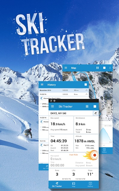 Ski Tracker 3 1