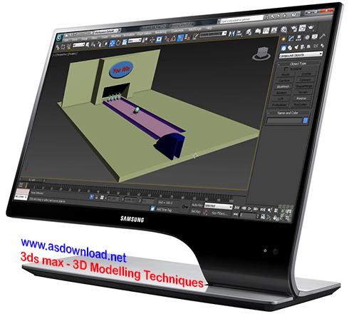 3ds max-3D Modelling Techniques