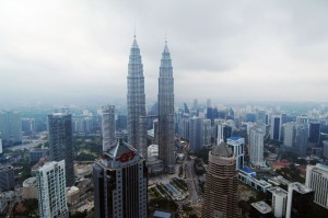 6-7. Petronas Towers 1 and 2, Location Kuala Lumpur, Malaysia, Height 451.9 metres