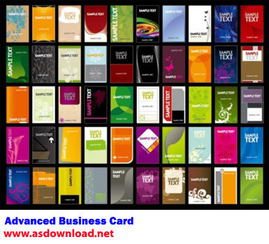 Advanced Business Card
