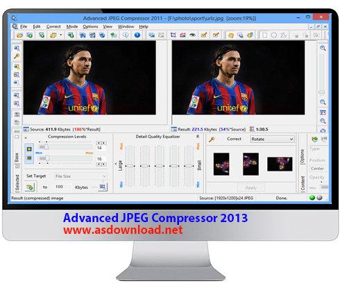 Advanced JPEG Compressor 2013
