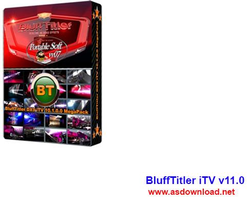 BluffTitler iTV v11.0-نرم افزار ساخت نوشته سه بعدی