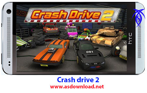 دانلود بازی دونفره Crash drive 2-بلوتوثی،مسابقه