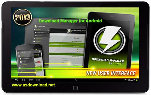 Download Manager for Android 4.43.12011 / 4.35 Unlocked-نرم افزار دانلود منیجر برای آندروید