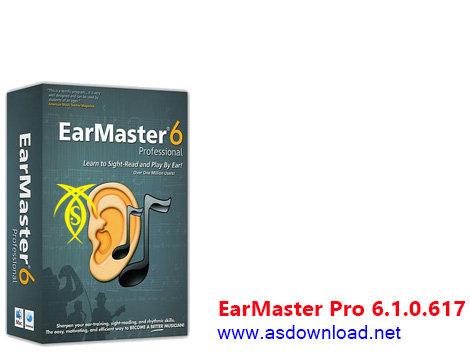 دانلود EarMaster Pro 6.1.0.617 - نرم افزار آموزش موسیقی