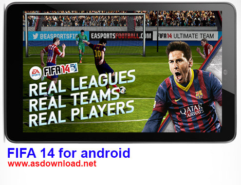 دانلود بازی FIFA 2014 برای آندروید+ دیتا