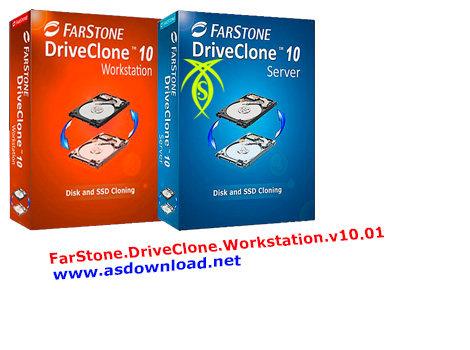 دانلود نرم افزار بکاپ از سیستم - FarStone DriveClone Workstation v10.01
