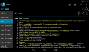 French Dictionary Offline 3