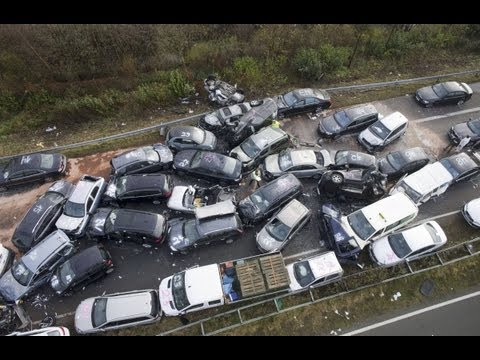 Funny Car Accident (1)