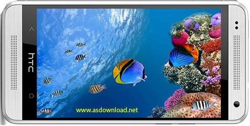 IOS 7 Marine Aquarium Theme
