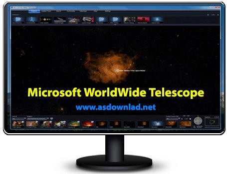 دانلود نرم افزار تلسکوپ مجازی مایکروسافت-Microsoft WorldWide Telescope v4.1.74.1