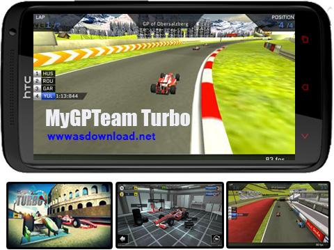 دانلود بازی اتومبیل رانی MyGPTeam Turbo برای آندروید+ دیتا