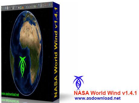 دانلود نرم افزار ماهواره ای ناسا NASA World Wind v1.4.1 - رقیب جدید گوگل ارث