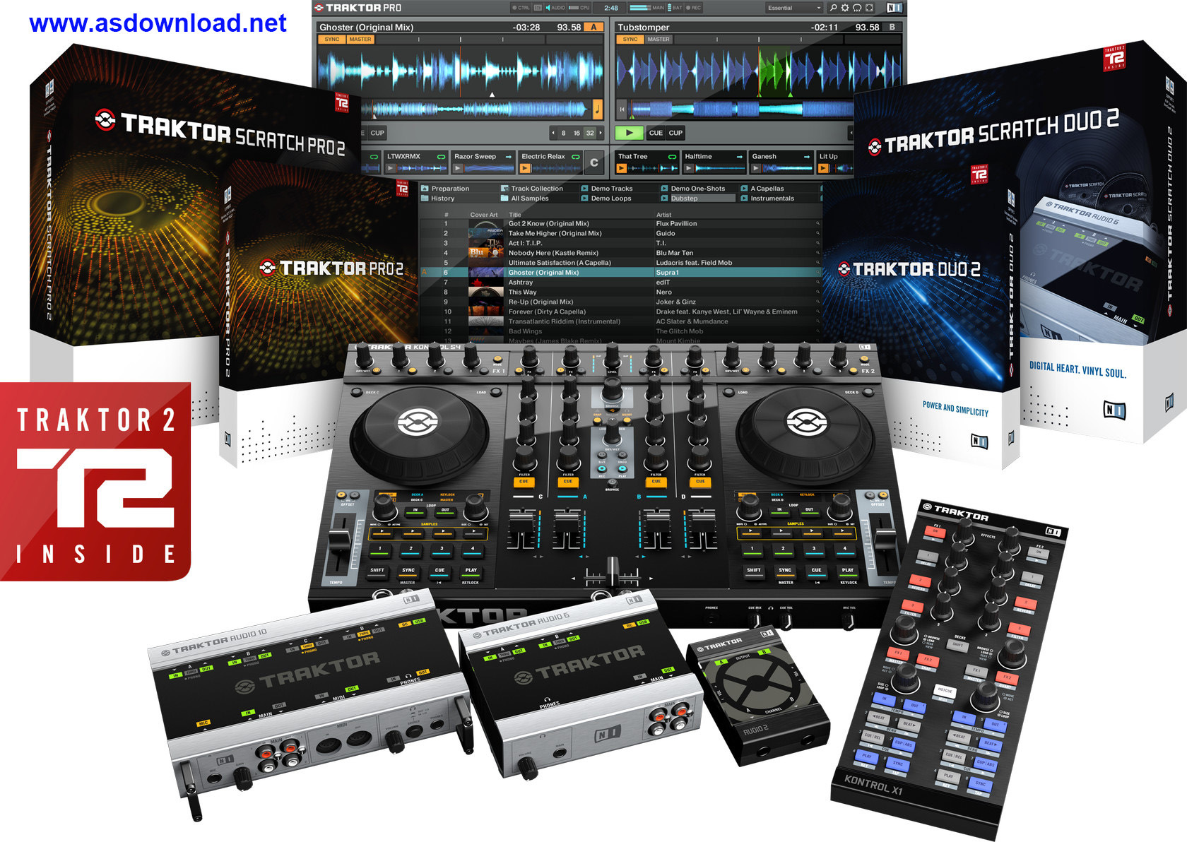 Native Instruments Traktor Pro 2.6