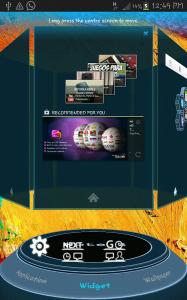 Note 3 Next Launcher 3D Theme 1