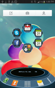 Note 3 Next Launcher 3D Theme 2