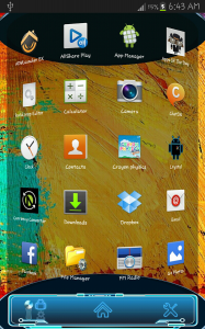 Note 3 Next Launcher 3D Theme 3