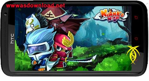 دانلود بازی نجات مردم دهکده- Nyanko Ninja v1.08 نسخه نامحدود
