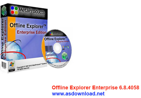 Offline Explorer Enterprise 6.8