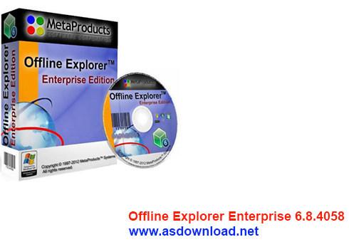 Offline Explorer Enterprise 6.8
