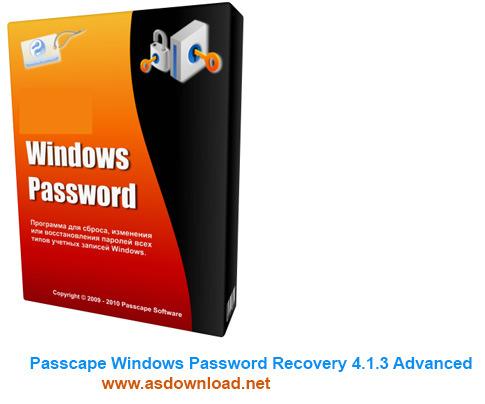 Passcape Windows Password Recovery 4.1